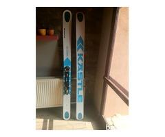 Predám lyže Kastle BMX128+viazanie+pásy