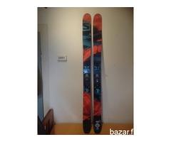 skialp, freeride set Salomon Q 115 , plum Yak