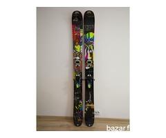 Predám prašanové lyže K2 Hellbent dĺžky 169cm šírka 132mm pod patou