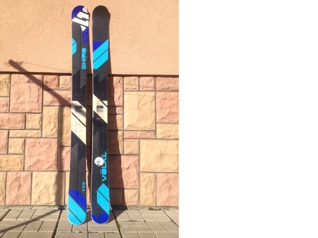 Volkl shiro 173cm, Marker duke 16din S